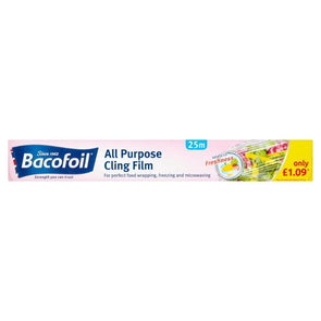 Bacofoil  All Purpose Cling Film 30cm x 25m