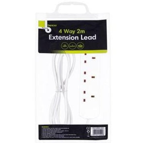 Benross Extension Lead 4 Way 2m 13A