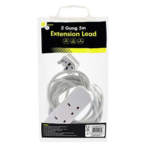 Benross Extension Lead 5m 2 Gang 13A