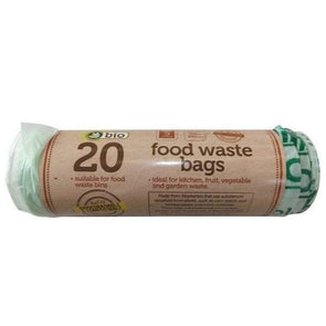 TidyZ Food Waste Bags 5 Litre 20 Pack Roll - Case of 20