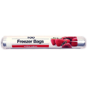 TidyZ Freezer Bags Extra Value 100 Pack Roll