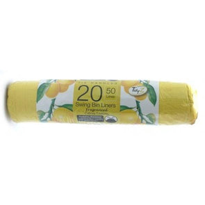 TidyZ Swing Bin Liners 50L 20 Pack Roll