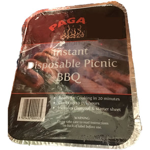 Pagan Instant Disposable Picnic BBQ