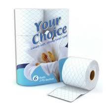 Your Choice Toilet Rolls 6 pack