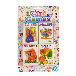 Card Games Children's Playing Cards 4 Pack