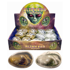 Giant Alien Egg with Baby - Case of 12