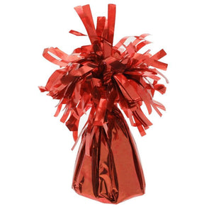 Balloon Weight Red Foil - Case of 12