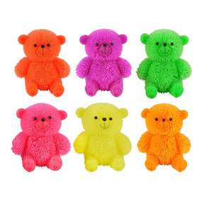Light Up Puffer Bears 80mm