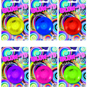 Glow-Yo Return Top with Light Assorted Colours