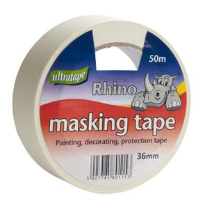 Ultratape Ultra Core Masking Tape 36mm x 40m - Case of 6