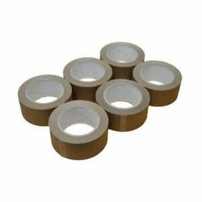 Brown Tape (6 Rolls) 48mm x 40m Ultratape