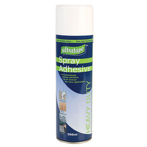Ultratape Heavy Duty Spray Adhesive 500ml