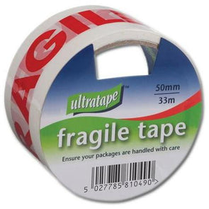 Ultratape Fragile Tape 50mm x 33m