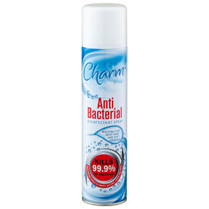 Charm Anti Bacterial Disinfectant Spray 300ml - Case of 12