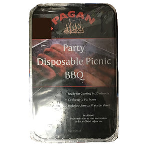 Pagan Party Disposable BBQ