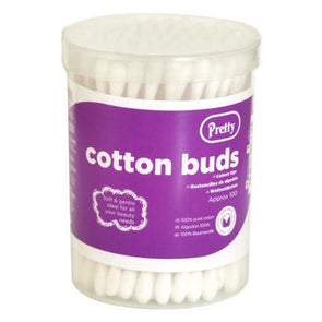 Pretty Cotton Buds 100 Pack - Case of 12