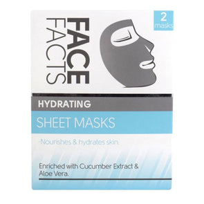 Face Facts Hydrating Sheet Mask Twin Pack