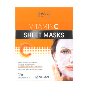 Face Facts Vitamin C Sheet Mask 2 pack