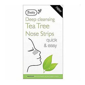 Pretty Deep Cleansing Tea Tree Nose Strips 6 pack