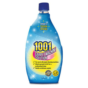 1001 Carpet Machine Solution 500ml - Case of 6
