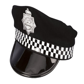 Fancy Dress Costume Party Police Hat