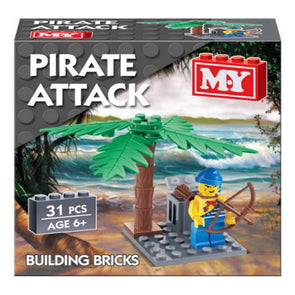 Pirate Brick Set Building Bricks