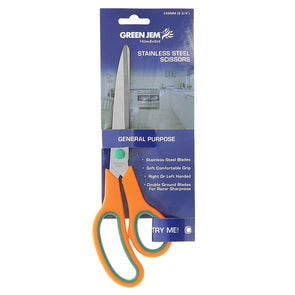 "Green Jem Stainless Steel Scissors 9.75"" - Case of 12"