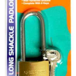 Green Jem Long Shackel Padlock 32mm - Case of 12