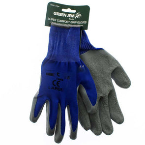 Green Jem Super Comfort Grip Work Gloves Large