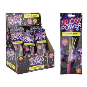 3 Multi Colour Glow Wands - Case of 36