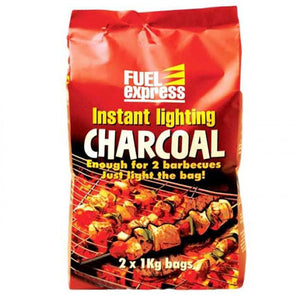 Pagan Instant Light Charcoal BBQ 2KG