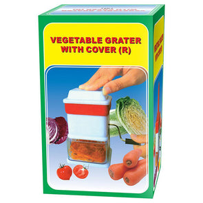Vegetable Grater with Cover Regular