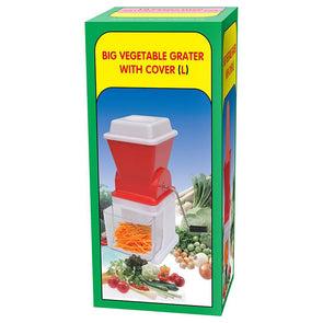 Vegetable Grater with Cover Large