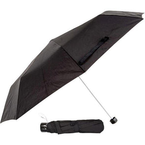 Prima 3 Fold Super Mini Umbrella Black