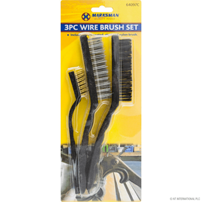 Marksman Wire Brush Set 3 Pack