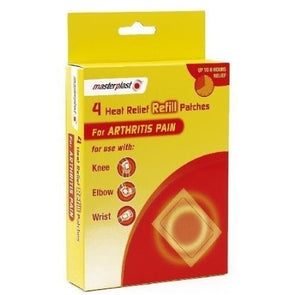 MasterPlast Instant Heat Pads Refill 4 Pack - Case of 12
