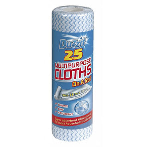 Duzzit Multipurpose Cloths 25 Roll Pack