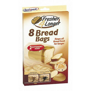 SealaPack Bread Bags 8 Pack