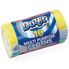 Duzzit Multipurpose Cloths 10 Pack