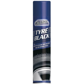 Car Pride Tyre Black Aerosol 300ml