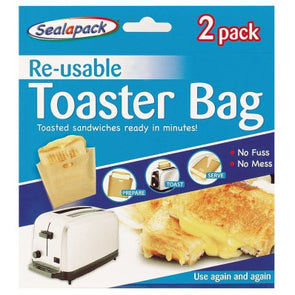 Sealapack Re-usable Toaster Bags 2 Pack