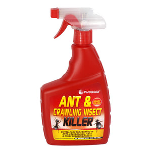 PestShield Ant & Crawling Insect Killer Spray 500ml