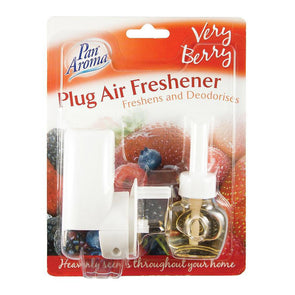 Pan Aroma Plug In Air Freshener Very Berry