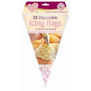Queen of Cakes Disposable Icing Bags 20 Pack