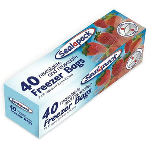 Sealapack 40 Pack Freezer Bags