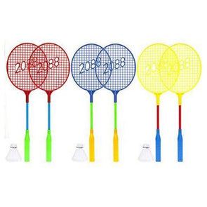 Lightweight Plastic Badminton Set with Shuttlecock