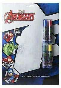A4 Paint Colouring Set Avengers