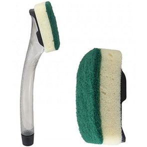 Fazee 2 Clean Washing Up Wand with Scourer Replaceable Head
