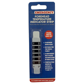 Emergency Forhead Temperature Indicator Strip