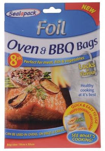 Sealapack Oven & BBQ Bags 8 Pack - Case of 24